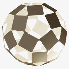 Dancing Square Lamp, Medium by Nendo