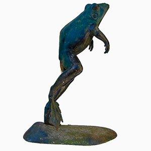 Statue des springenden Frosches