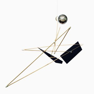 Sculpture Lumineuse Satellite par SuperDuperStudio