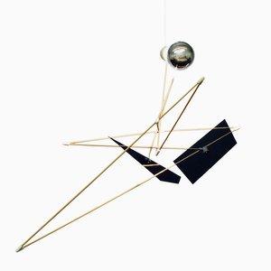 Sculpture Lumineuse Satellite par SuperDuperStudio