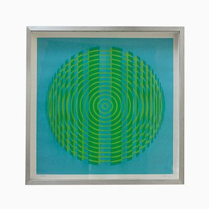Serigraph by Alberto Biasi for Nikol Art