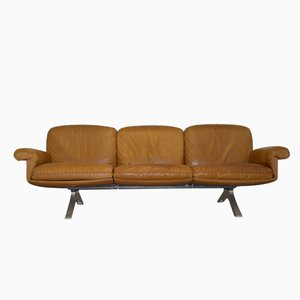 Swiss Vintage DS 31 Three-Seater Sofa from De Sede, 1970s
