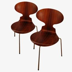 Ant Chairs by Arne Jacobsen for Fritz Hansen, 1951, Set of 2