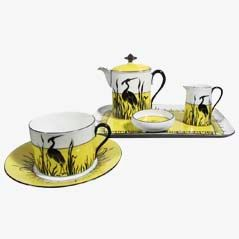 Art Nouveau Coffee Set from Moritz Zdekauder, 1930