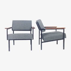 Easy Chairs by Martin Visser for 't Spectrum, 1960s, Set of 2