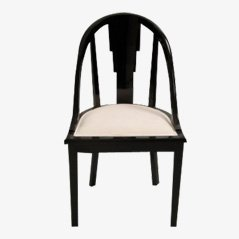 Vintage Black Dining Chair