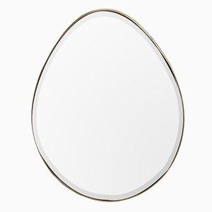 Specchio The Egg di Lind + Almond per NOVOCASTRIAN