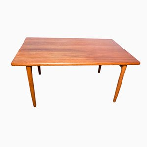 Solid Teak Dining Table from Glostrup, 1960s