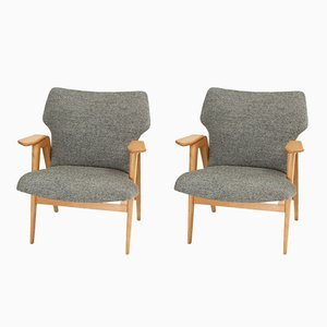 Armchairs by Roger Landault, 1950s, Set of 2