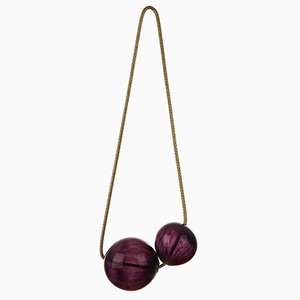 Black Cherry Bubbles Wall Hanging by LaLouL / Corinne van Havre