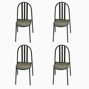 Esszimmerstühle von Robert Mallet-Stevens, 1980er, 4er Set