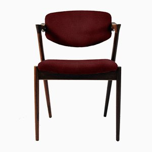 Customizable Rosewood Dining Chairs by Kai Kristiansen, 1960s, Set of 12