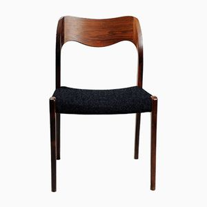 Customizable Dining Chairs by Niels Otto Møller, 1960s, Set of 12
