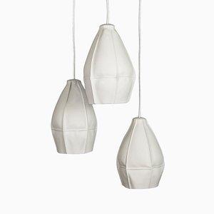 Lampes à Suspension Kawa par Luft Tanaka pour Souda, Set de 3