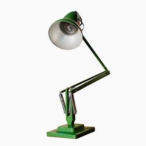 Lámpara Anglepoise verde de Herbert Terry, 1935