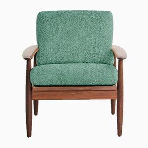 Personalisierbarer dänischer Vintage Sessel aus massivem Teak