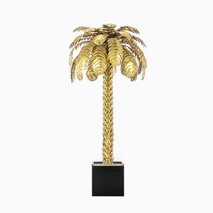 Palm Tree Floor Lamp by Atelier Techoueyres for Maison Charles, 1970s