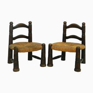 Mid-Century Children's Chairs, 1950s, Set of 2