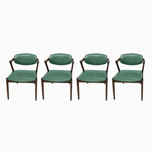 Customizable Rosewood Dining Chairs by Kai Kristiansen, Set of 4