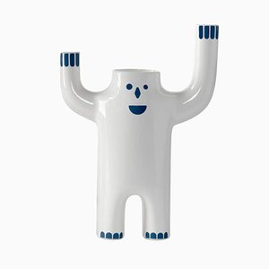 HAPPY SUSTO VASES White - Large - Animated from BD Barcelona