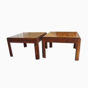 Tavolini Plexus in palissandro di Illum Wikkelsø per CFC Silkeborg