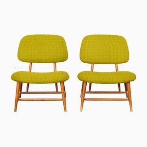 Personalisierbare Te-Ve Stühle von Alf Svensson für Ljungs Industrier, 2er Set