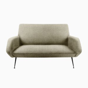Sofá de dos plazas personalizable Mid-Century, años 60