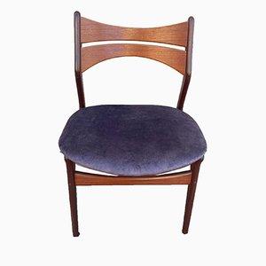 Model 310 Danish Teak Side Chair by Erik Buch, 1960s