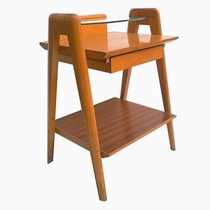 Tables de Chever en Hêtre et Verre, Italie, 1950s
