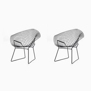 Modell Diamond Sessel von Harry Bertoia für Knoll Inc. / Knoll International, 1950er, 2er Set