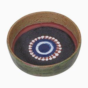 Ceramic Bowl from Kupittaan Savi, Finland, 1950s, Set of 2