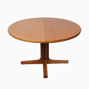 Swedish Extendable Roosewood & Teak Dining Table by Karl-Erik Ekselius for JOC Vetlanda, 1960s