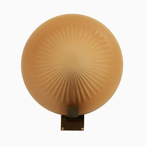 Swedish Art Deco Wall Sconce from Orrefors, 1930s