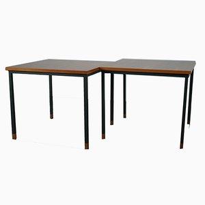 Tables de Salon en Noyer par Wilhelm Renz