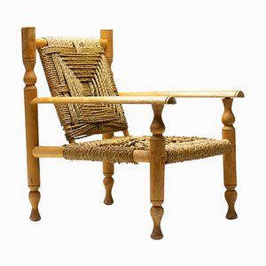 Armchair by Audoux & Minet, 1950s