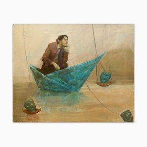 Occupied - Oil on Canvas by Anastasia Kurakina - 2010s 2010s