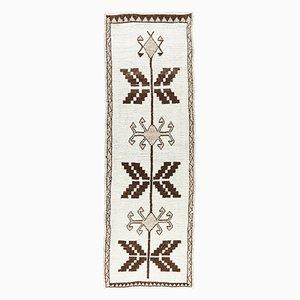 3x10 Vintage Turkish Oushak Handmade Wool Carpet
