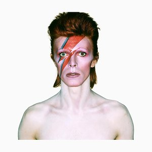 David Bowie Aladdin Sane, Eyes Open, edición limitada Firmado por David Bowie, 1973