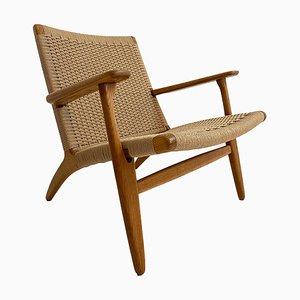 Model CH25 Armchair by Hans J. Wegner for Carl Hansen & Søn, 1950s