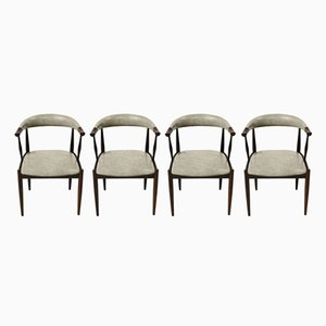 Customizable Rosewood Dining Chairs by Johannes Andersen, Set of 4