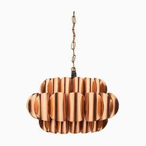 Mid-Century Pendant Lamp by Thorsten Orrling for Temde, 1960s