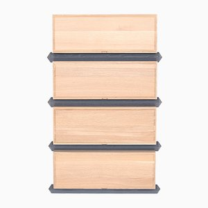 Stack Storage Four-Tier Wood Drawers from Debra Folz Design