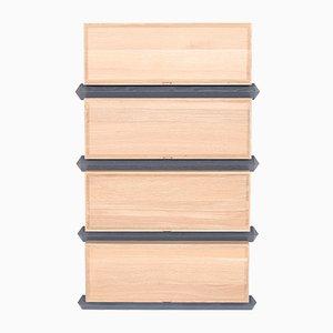 Stapelbare Vierteilige Holz Schubladen von Debra Folz Design