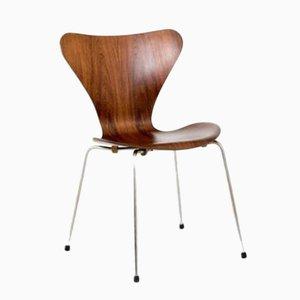 Vintage 3107 Stuhl aus Palisander von Arne Jacobsen für Fritz Hansen