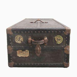 Table Basse Coffre de The Perkiomen Trunk & Bag Co., Etat-Unis, 1930s