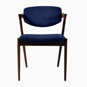 Customizable Rosewood Dining Chairs by Kai Kristiansen, 1960s, Set of 8
