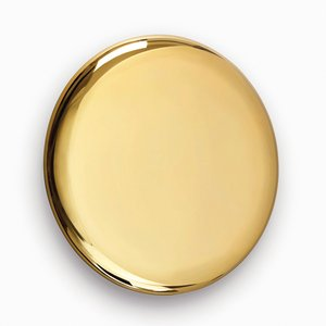 Beauty Mirror in Gold by Michael Anastassiades