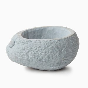 Avocado Stone Fruit Planter in Blue by Chen Chen & Kai Williams
