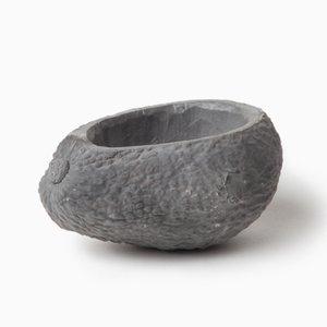 Avocado Stone Fruit Planter in Dark Gray by Chen Chen & Kai Williams