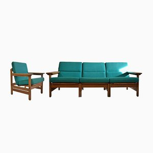 Mid-Century Danish Modular Lounge Set